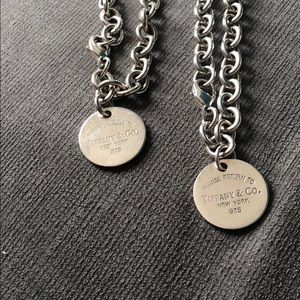 Tiffany's Necklace & Bracelet set $850 for both